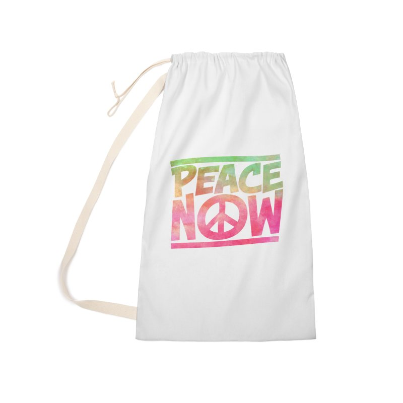 Peace Now Accessories Bag by Puttyhead's Artist Shop