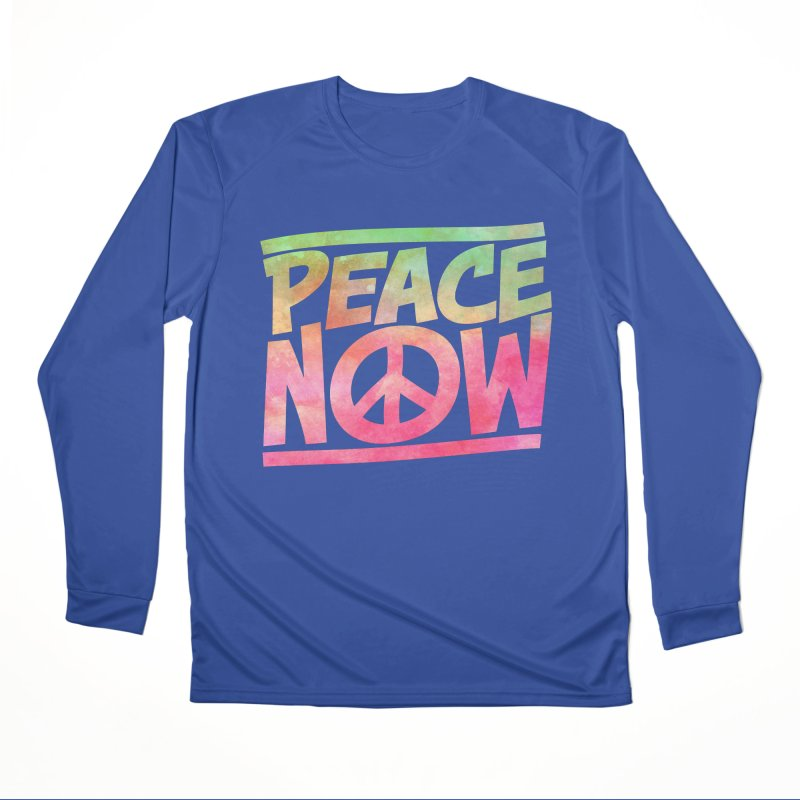Peace Now Men's Performance Longsleeve T-Shirt by Puttyhead's Artist Shop