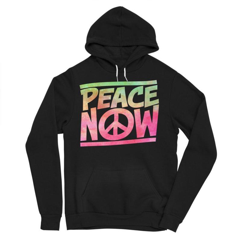Peace Now Women's Sponge Fleece Pullover Hoody by Puttyhead's Artist Shop