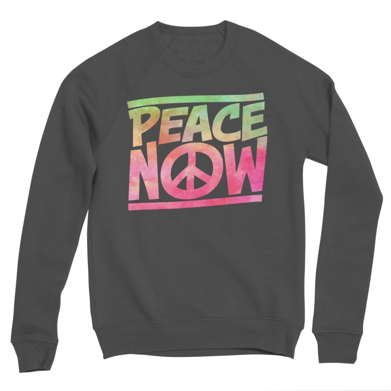 Peace Now Men's Sponge Fleece Sweatshirt by Puttyhead's Artist Shop