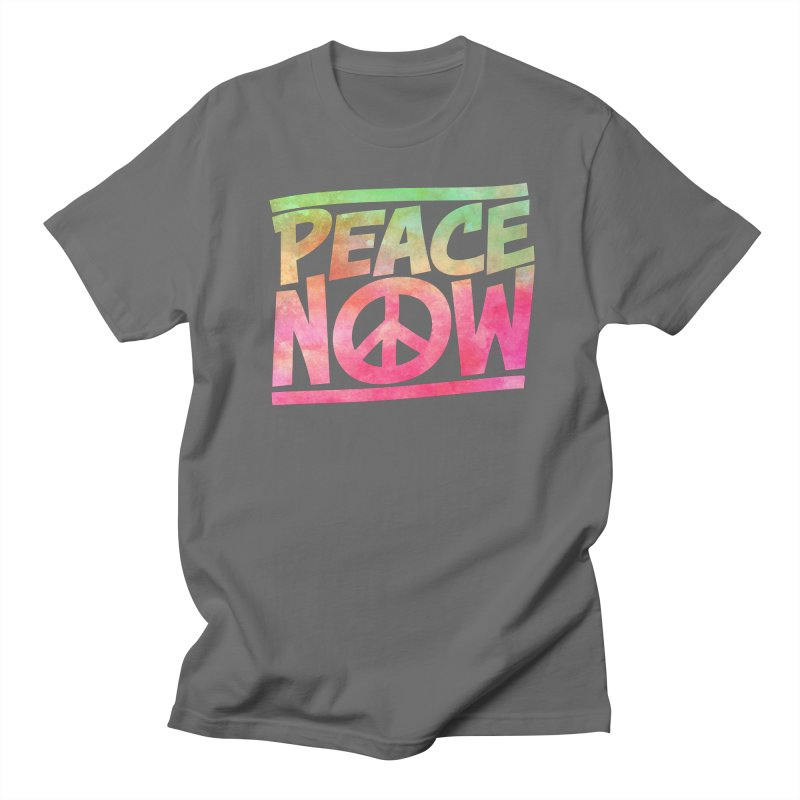 Peace Now Men's T-Shirt by Puttyhead's Artist Shop