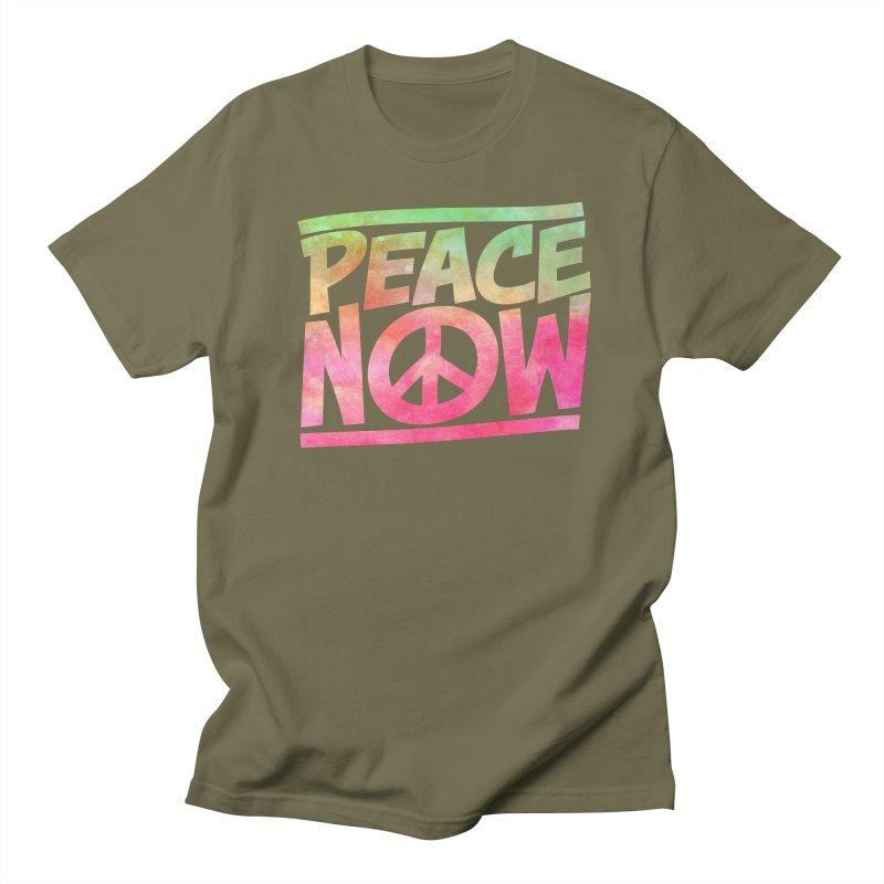 Peace Now Women's Regular Unisex T-Shirt by Puttyhead's Artist Shop