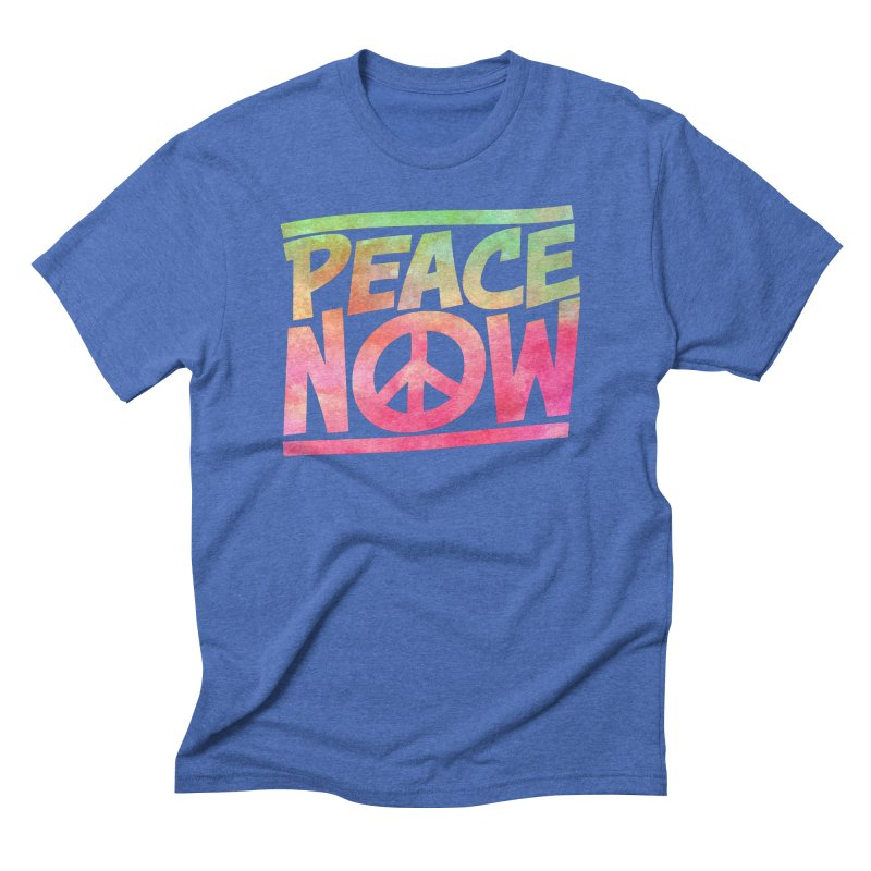 Peace Now Men's Triblend T-Shirt by Puttyhead's Artist Shop