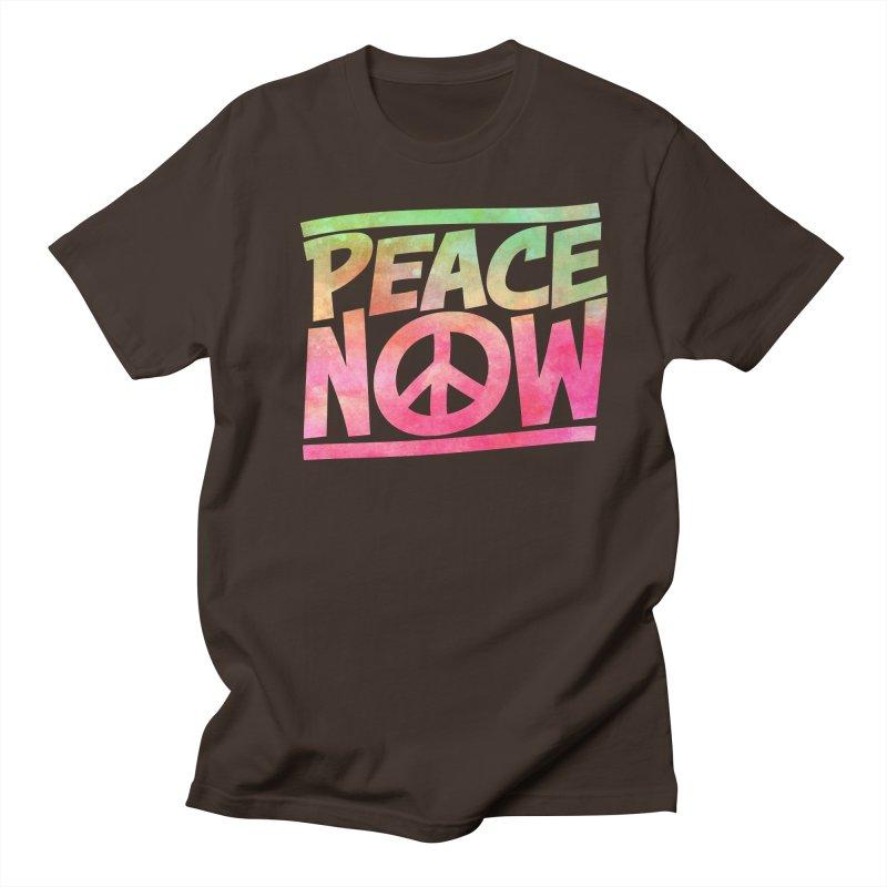 Peace Now Men's Regular T-Shirt by Puttyhead's Artist Shop