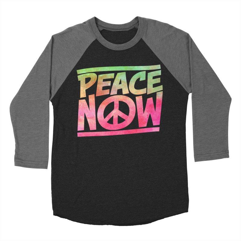 Peace Now Women's Baseball Triblend Longsleeve T-Shirt by Puttyhead's Artist Shop
