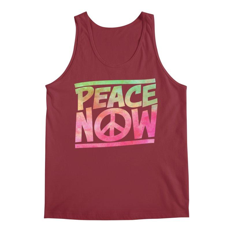 Peace Now Men's Regular Tank by Puttyhead's Artist Shop