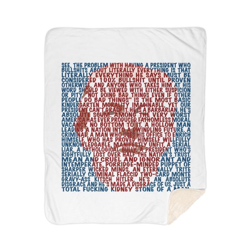 Moxon Home Sherpa Blanket Blanket by Puttyhead's Artist Shop
