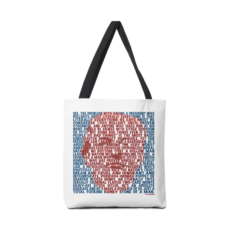 Moxon Accessories Tote Bag Bag by Puttyhead's Artist Shop