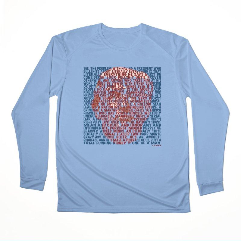 Moxon Men's Performance Longsleeve T-Shirt by Puttyhead's Artist Shop