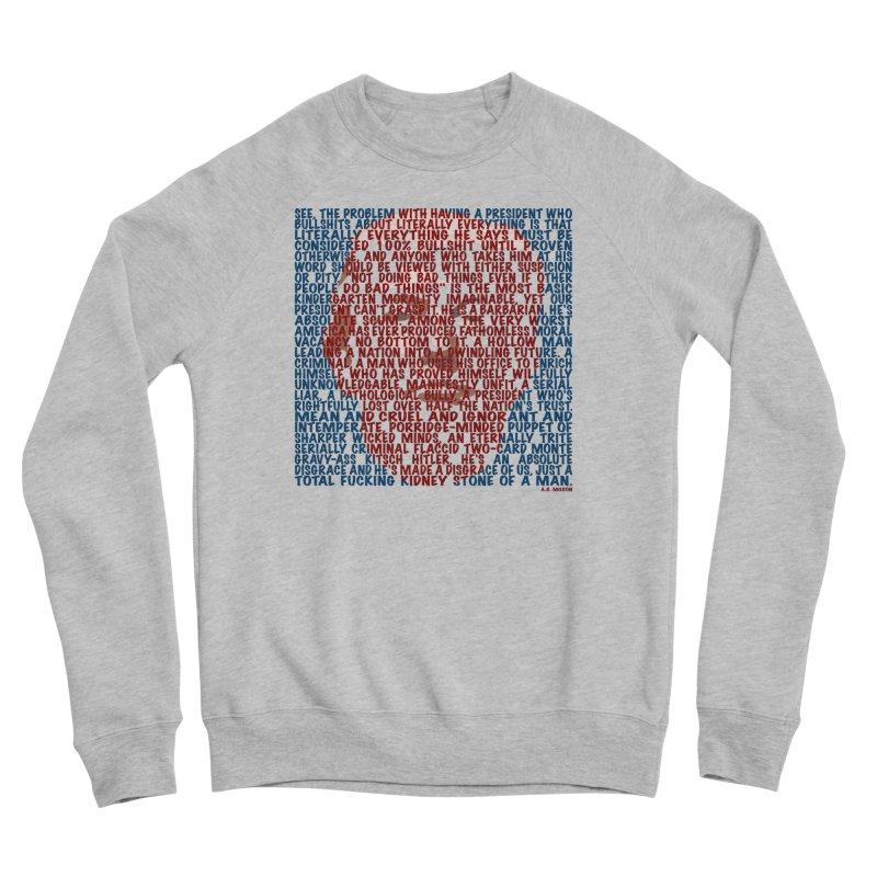 Moxon Women's Sponge Fleece Sweatshirt by Puttyhead's Artist Shop