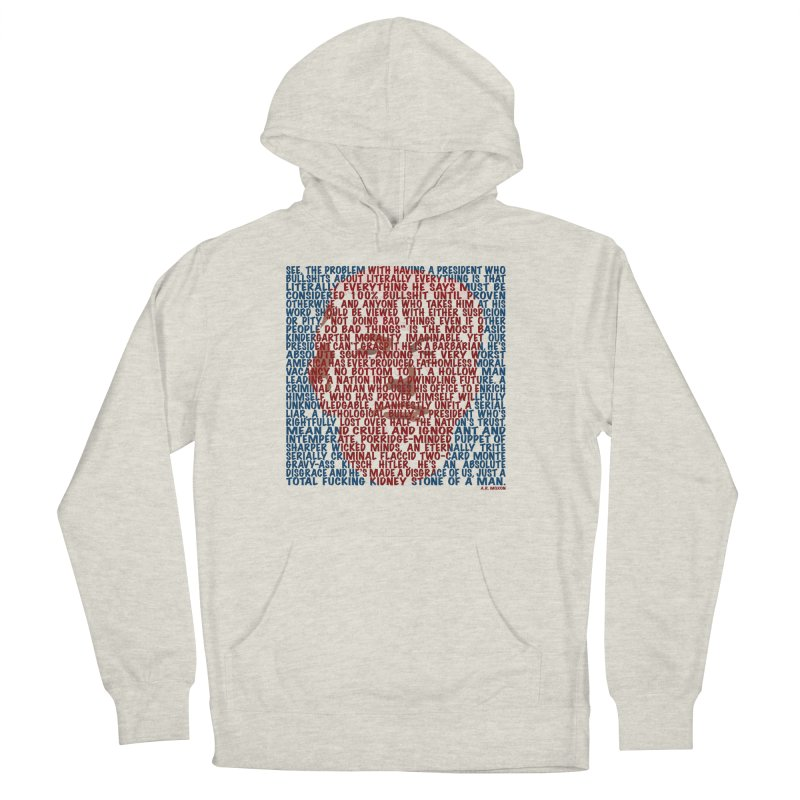 Moxon Women's French Terry Pullover Hoody by Puttyhead's Artist Shop