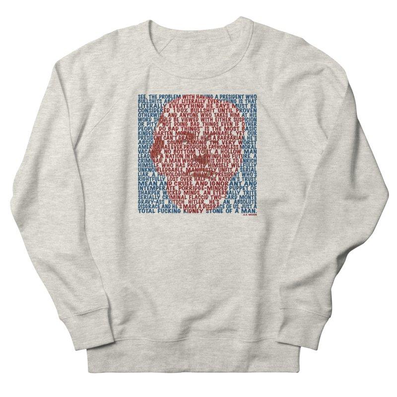 Moxon Men's French Terry Sweatshirt by Puttyhead's Artist Shop