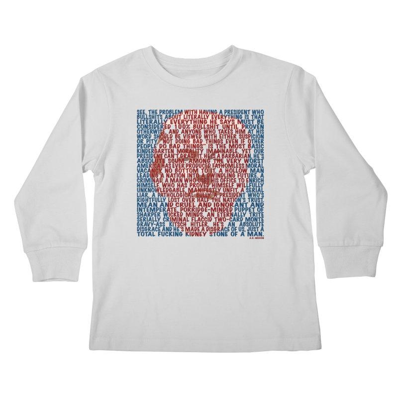 Moxon Kids Longsleeve T-Shirt by Puttyhead's Artist Shop