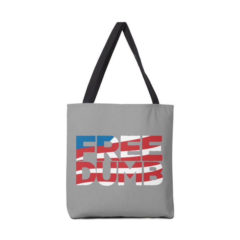 Free Dumb Accessories Tote Bag Bag by Puttyhead's Artist Shop