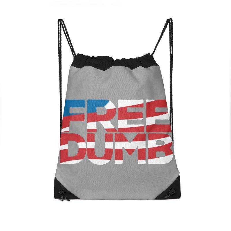 Free Dumb Accessories Drawstring Bag Bag by Puttyhead's Artist Shop