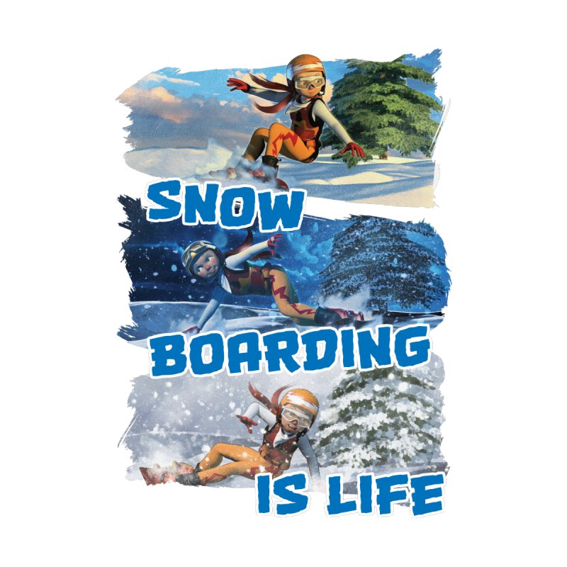 Snowboarding is Life Men's T-Shirt by Puttyhead's Artist Shop