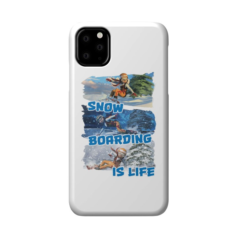 Snowboarding is Life Accessories Phone Case by Puttyhead's Artist Shop