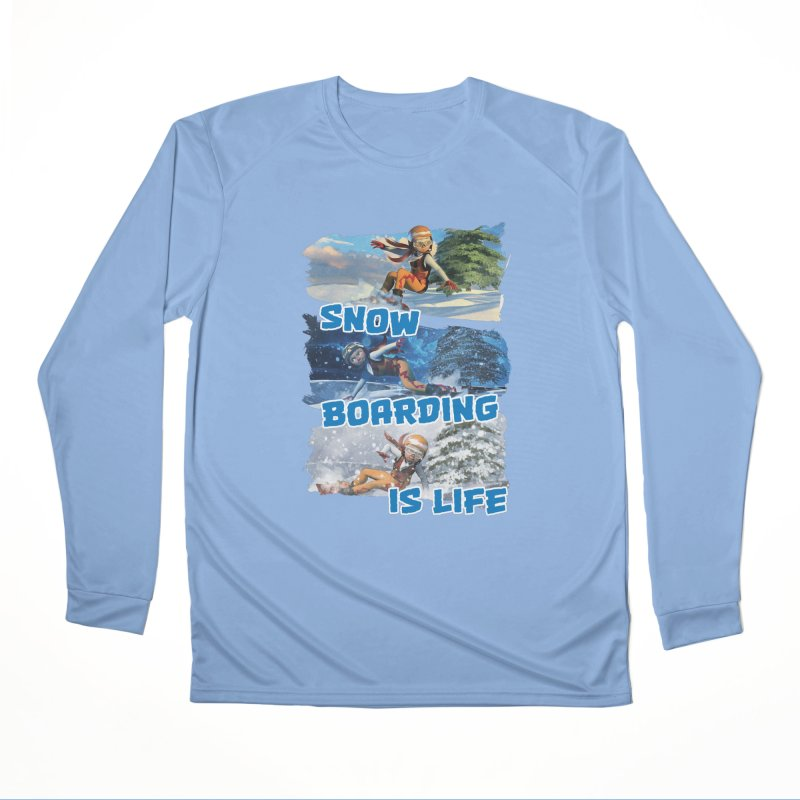 Snowboarding is Life Men's Longsleeve T-Shirt by Puttyhead's Artist Shop
