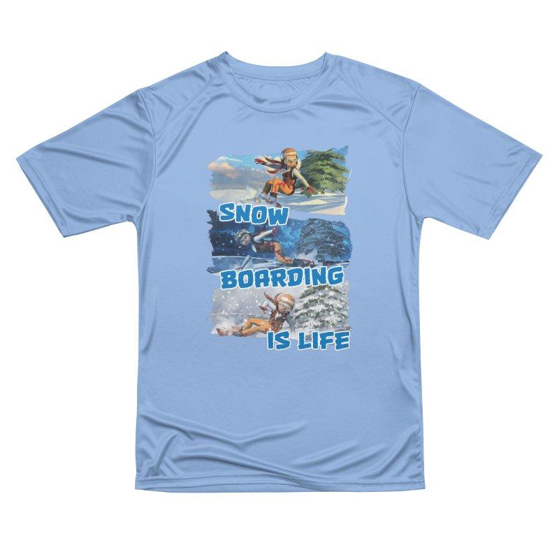 Snowboarding is Life Men's T-Shirt by Puttyhead's Artist Shop