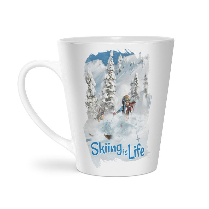 Skiing is Life Accessories Mug by Puttyhead's Artist Shop