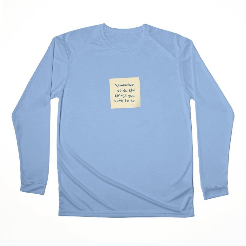 Remember! Men's Longsleeve T-Shirt by Puttyhead's Artist Shop