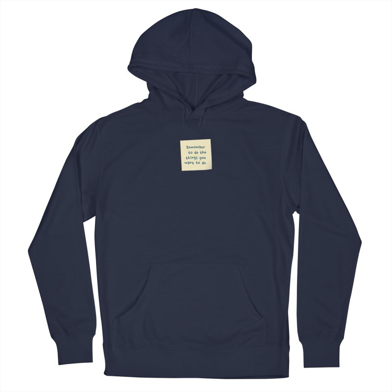 Remember! Men's Pullover Hoody by Puttyhead's Artist Shop