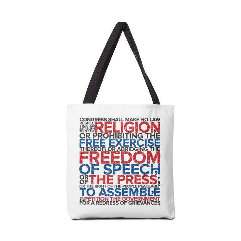 First Amendment Accessories Bag by Puttyhead's Artist Shop
