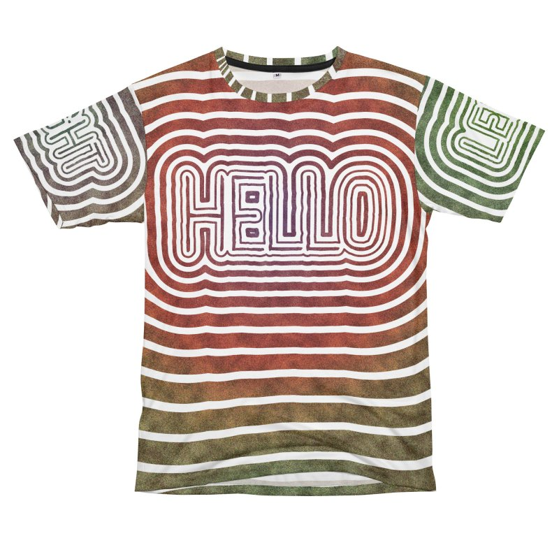Hello/Goodbye Men's Cut & Sew by Puttyhead's Artist Shop
