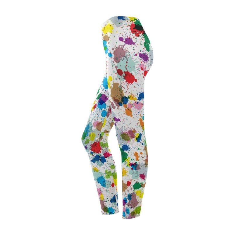 Splotches! Leggings Women's Bottoms by Puttyhead's Artist Shop