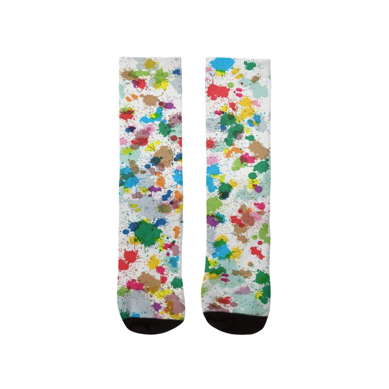 Splotches! Socks Men's Socks by Puttyhead's Artist Shop