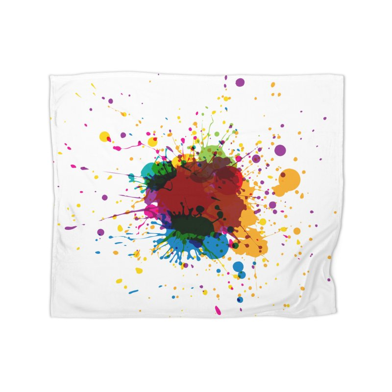 Splotch! (just one) Home Blanket by Puttyhead's Artist Shop