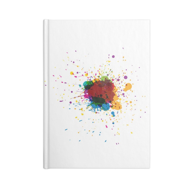 Splotch! (just one) Accessories Notebook by Puttyhead's Artist Shop