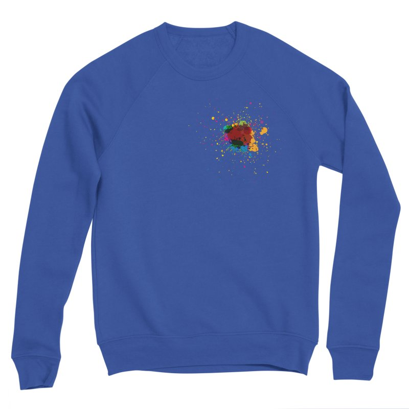 Splotch! (just one) Men's Sweatshirt by Puttyhead's Artist Shop