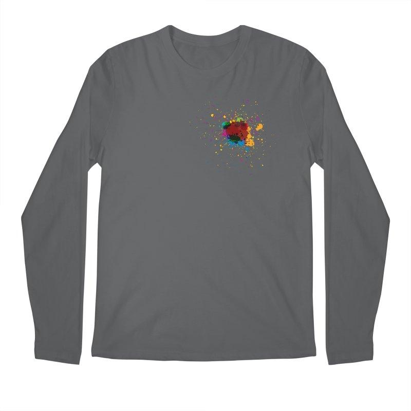 Splotch! (just one) Men's Longsleeve T-Shirt by Puttyhead's Artist Shop