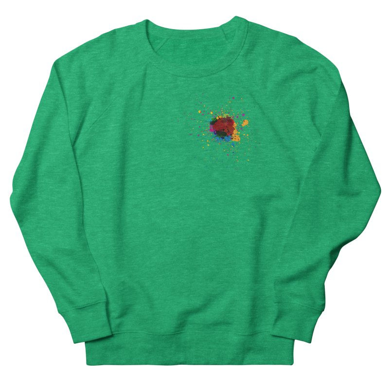 Splotch! (just one) Women's Sweatshirt by Puttyhead's Artist Shop