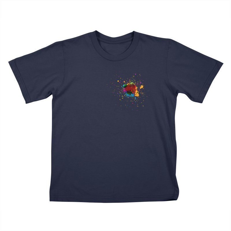 Splotch! (just one) Kids T-Shirt by Puttyhead's Artist Shop