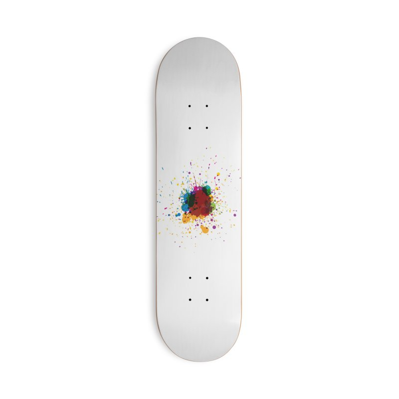 Splotch! (just one) Accessories Skateboard by Puttyhead's Artist Shop