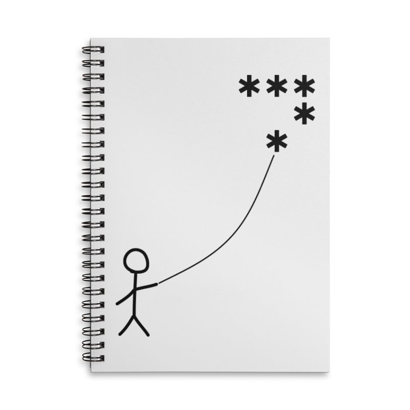 Go Fly a Kite - Light Accessories Notebook by Puttyhead's Artist Shop