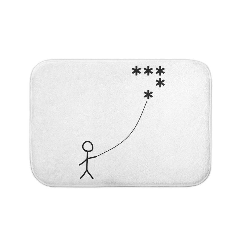 Go Fly a Kite - Light Home Bath Mat by Puttyhead's Artist Shop