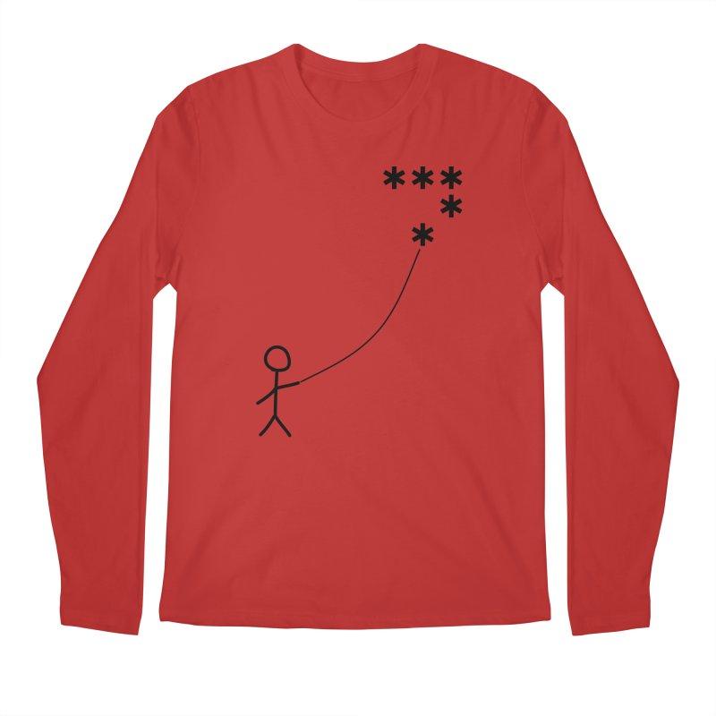 Go Fly a Kite - Light Men's Longsleeve T-Shirt by Puttyhead's Artist Shop