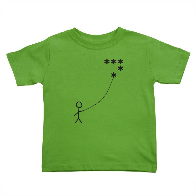 Go Fly a Kite - Light Kids Toddler T-Shirt by Puttyhead's Artist Shop