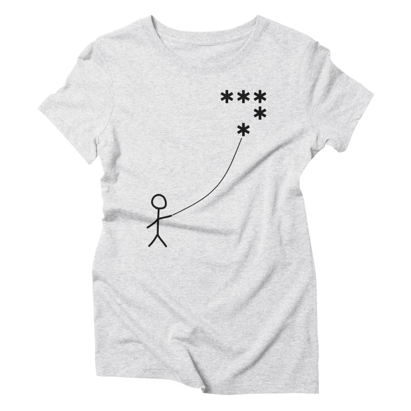 Go Fly a Kite - Light Women's T-Shirt by Puttyhead's Artist Shop