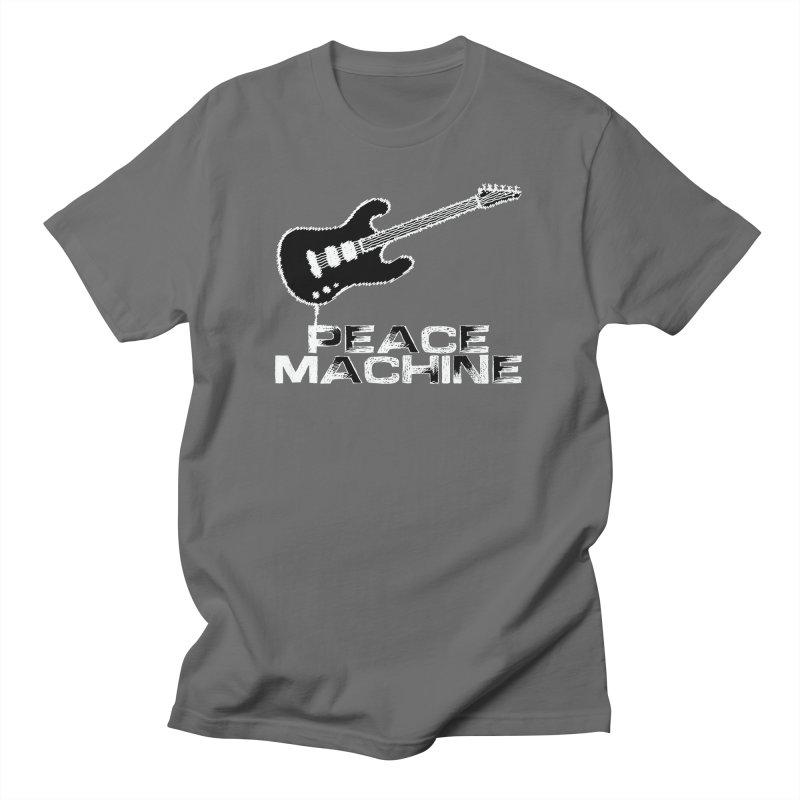 Peace Machine - Dark Men's T-Shirt by Puttyhead's Artist Shop