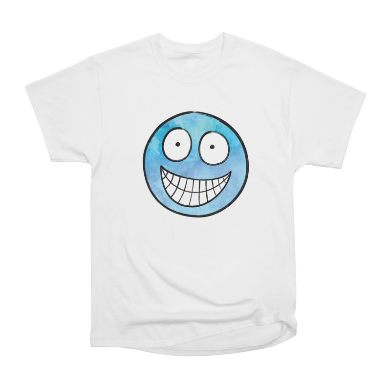 Smiley-Face - Blue Men's Classic T-Shirt by Puttyhead's Artist Shop