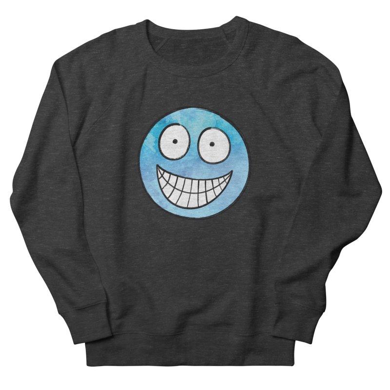 Smiley-Face - Blue Women's Sweatshirt by Puttyhead's Artist Shop