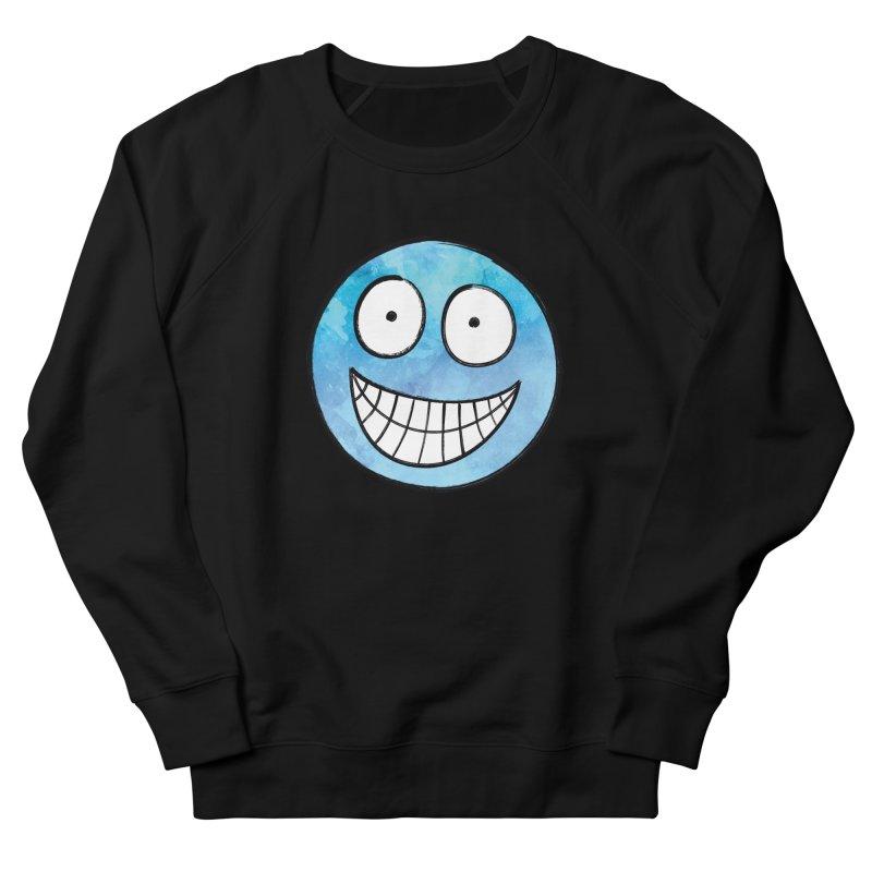 Smiley-Face - Blue Men's Sweatshirt by Puttyhead's Artist Shop