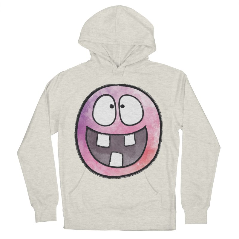 Smiley-Face - 3-teeth Men's Pullover Hoody by Puttyhead's Artist Shop