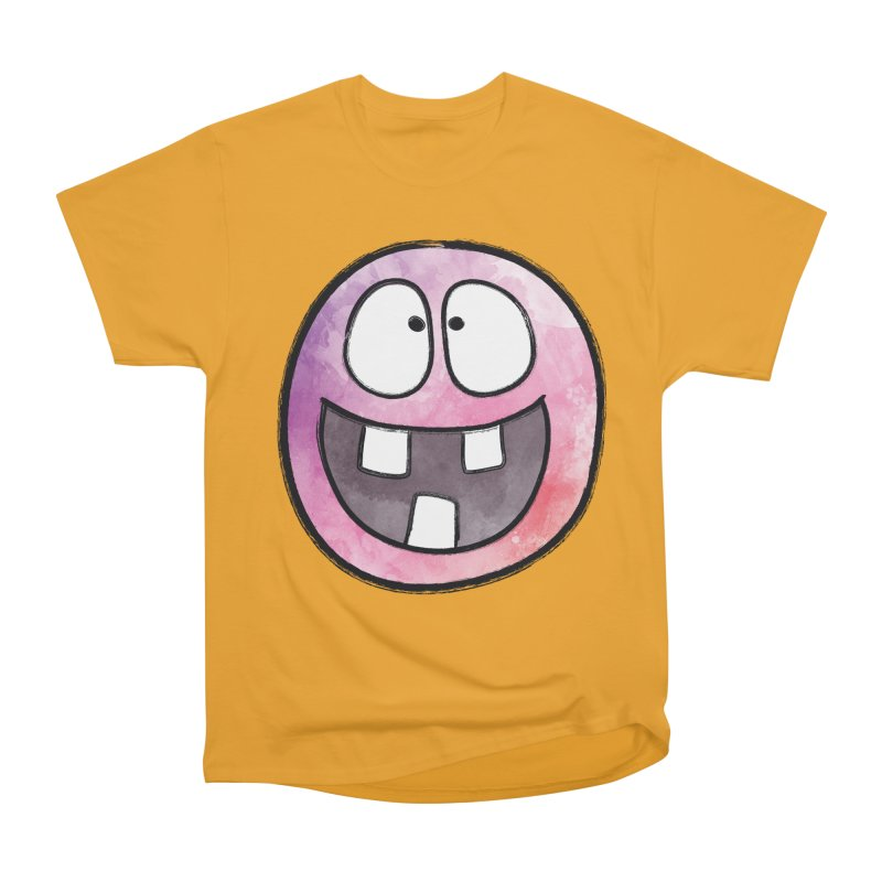 Smiley-Face - 3-teeth Women's Classic Unisex T-Shirt by Puttyhead's Artist Shop