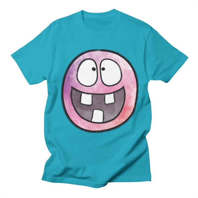Smiley-Face - 3-teeth Women's Unisex T-Shirt by Puttyhead's Artist Shop