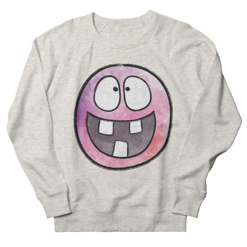 Smiley-Face - 3-teeth Men's Sweatshirt by Puttyhead's Artist Shop